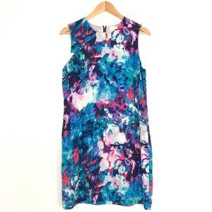 Cynthia Rowley | Water Color Silk Floral Dress